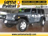 Options:  2014 Jeep Wrangler Unlimited Sport 4Wd