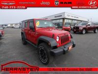 Wrangler Jeep 3.6L V6 24V VVT 16/21mpg Awards: * 2014