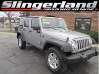 Options:  2014 Jeep Wrangler Unlimited Sport|Cloth
