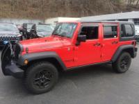 2014 Jeep Wrangler Unlimited Willy's (6-Speed Manual),