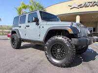 This Jeep Wrangler Unlimited has just had a major make