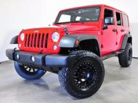 4 Wheel Drive! Red Hot! Previous owner purchased it