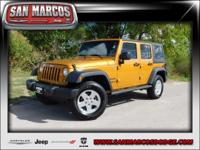 Options:  2014 Jeep Wrangler Unlimited Sport|Orange/|V6