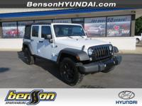 ONE OWNER and NON-SMOKER. Wrangler Unlimited Sport, 4D