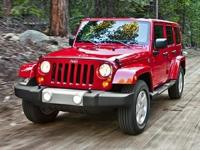 Recent Arrival! CARFAX One-Owner. 2014 Jeep Wrangler