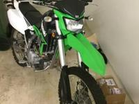 2014 Kawasaki KLX 250T. Terrific bike lots of