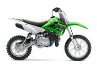 2014 Kawasaki KLX110L Electric start with manual