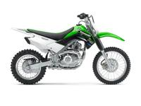 Its moderate 30.7 inch seat height means the KLX140