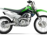 2014 KAWASAKI KLX140L, Lime Green, a more robust klx140