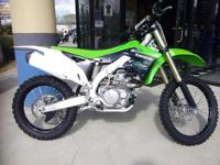 I currently have a pre owned 2014 Kawasaki KX 450-F for