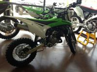 2014 Kawasaki KX85 3 TEAM GREEN RIDES AVAILABLE FOR the