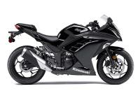 Compared to a lot of sportbikes the Ninja 300 ABS also
