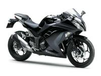 Compared to most sportbikes the Ninja 300 also offers a
