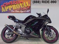 2014 Kawasaki Ninja 300 sport bike for sale only