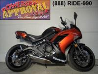 2014 Kawasaki Ninja 650R with anti lock brakes and only