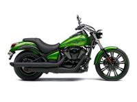 The low-slung seat and the drag-style handlebar put the