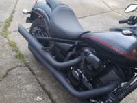 2014 KAWASAKI Vulcan 900 Custom, Blacked Out Street Rod