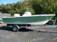 2014 Key West 176 Center Console Sage green w/F90