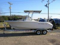 2014 Key West 219 FS. THIS BRAND NEW CENTER CONSOLE IS