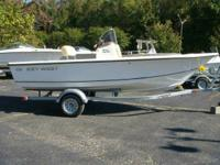 2014 Key West 176 Bay Reef w/ 90hp Yamaha outboard and