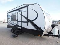 The Carbon 19 is a 24' light weight toy hauler trailer