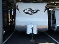 2012 Cougar 26BHWE Bunkhouse Trailer 28' Still smells