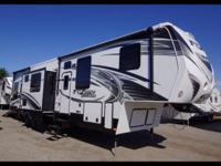 2014 Keystone Fuzion Chrome 404. This trailer is in