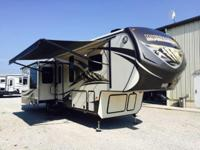 Step inside this Mountaineer fifth wheel 310RET by