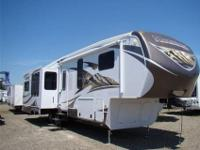 The Mountaineer 337RET is a beautiful fifth-wheel with