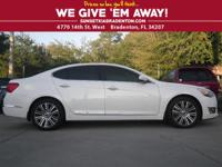 LUXURY INSIDE AND OUT!!! 2014 KIA CADENZA STACKS UP TO