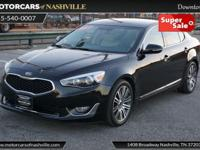 This 2014 Kia Cadenza 4dr 4dr Sedan Limited features a