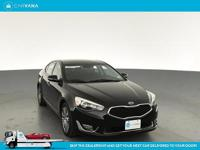 Got your eye on a 2014Kia Cadenza that seats 5 and gets