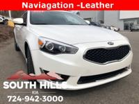 New Price! 2014 Kia Cadenza Premium Kia Certified 10