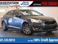 Blue 2014 Kia Cadenza Premium FWD 6-Speed Automatic