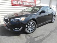 Completely loaded Cadenza EX.  This is a company owned