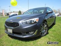 Drive around town in style in the Pre Owned Kia Cadenza