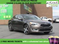 This 2014 Kia Cadenza Premium will sell fast -Backup