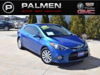 Abyss Blue 2014 Kia Forte Koup EX FWD 6-Speed Automatic