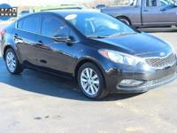 CARFAX One-Owner. This 2014 Kia Forte EX in Aurora