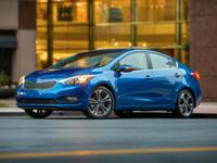 WOW!!! Check out this. 2014 Kia Forte EX Steel Blue