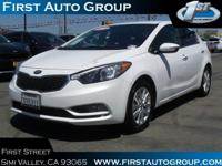 Certified Vehicle! New Arrival! This 2014 Kia Forte EX