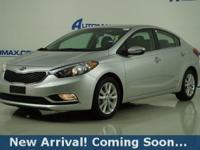 2014 Kia Forte EX in Bright Silver, This Forte comes