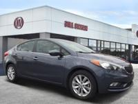 2014 Kia Forte EX Steel Blue CARFAX One-Owner. Odometer