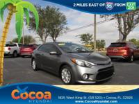This 2014 Kia Forte Koup EX in Bright Silver features: