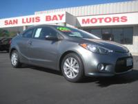 Options:  2014 Kia Forte Koup Ex|Gray/Gray|V4 2.0 L