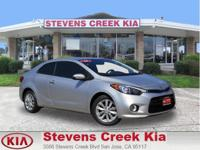 Options:  2014 Kia Forte Koup Ex Coupe|Silver|4-Cyl Gdi
