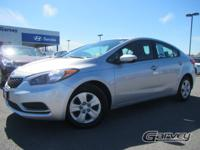 USED 2014 Kia Forte LX with less than 15,000 miles! The