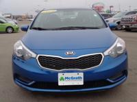 You won't find a better Sedan than this terrific Kia.