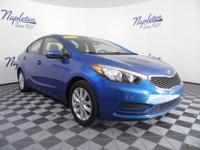 2014 Kia Forte Blue CARFAX One-Owner.Odometer is 3251