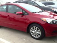 Crimson Red exterior, LX trim. CARFAX 1-Owner. FUEL